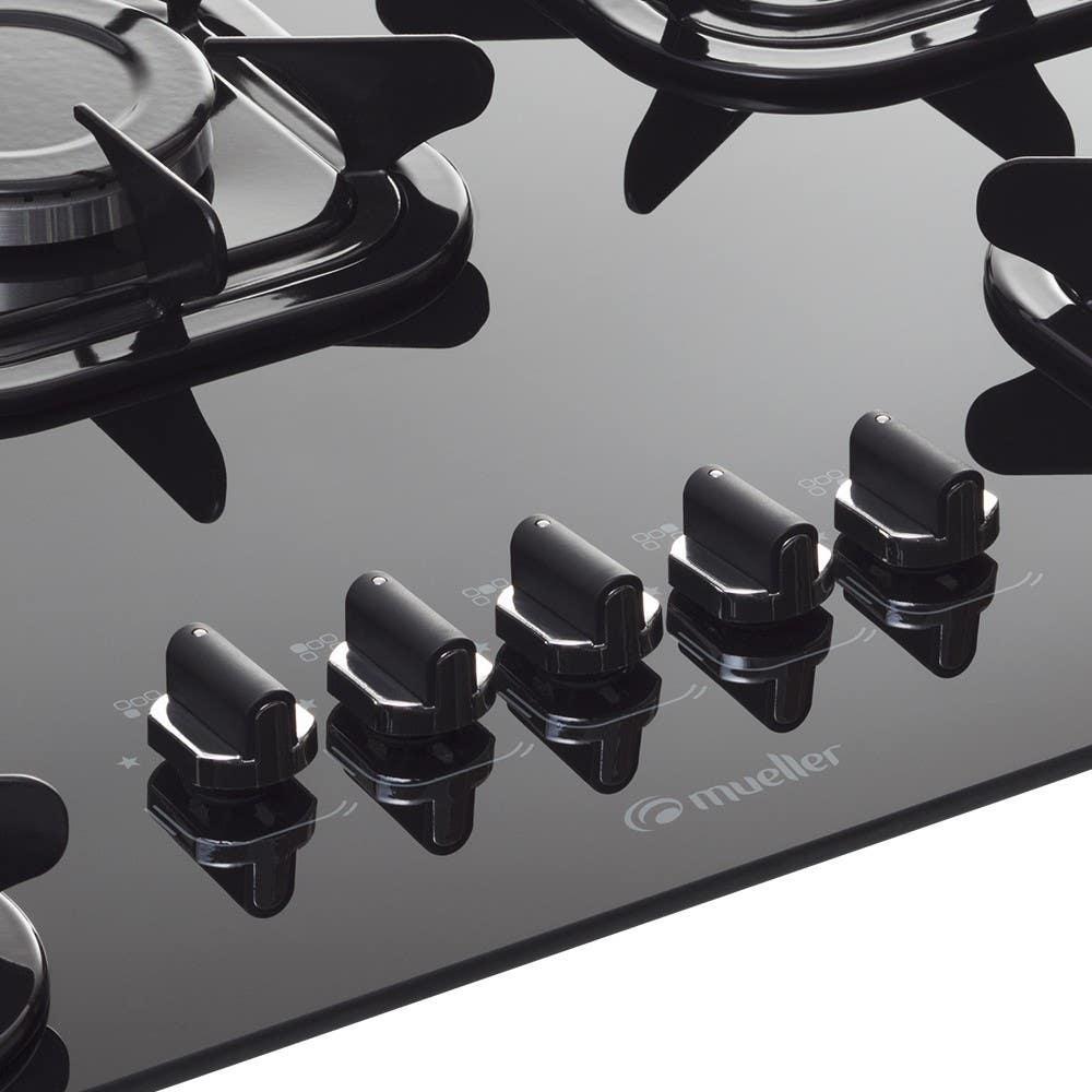 Mesa em vidro temperado e botões removíveis