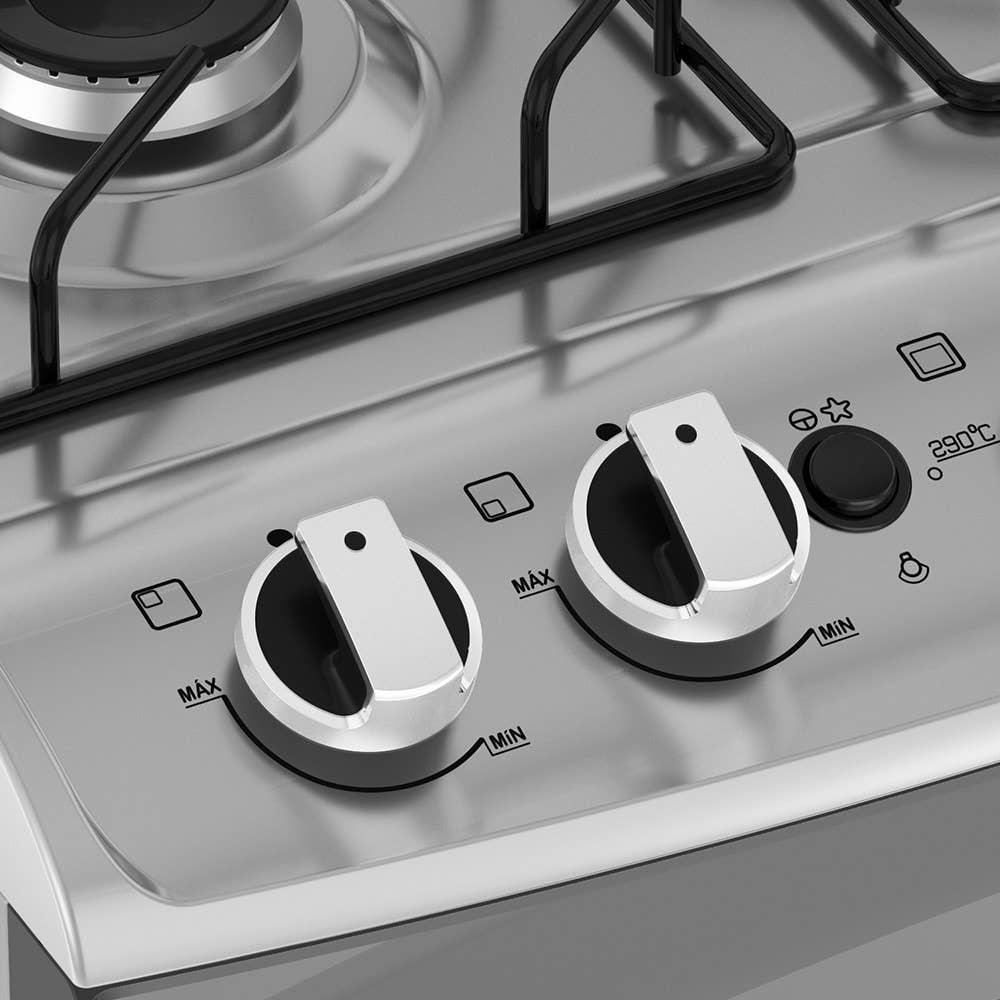 Botões removíveis e sobrepostos à mesa