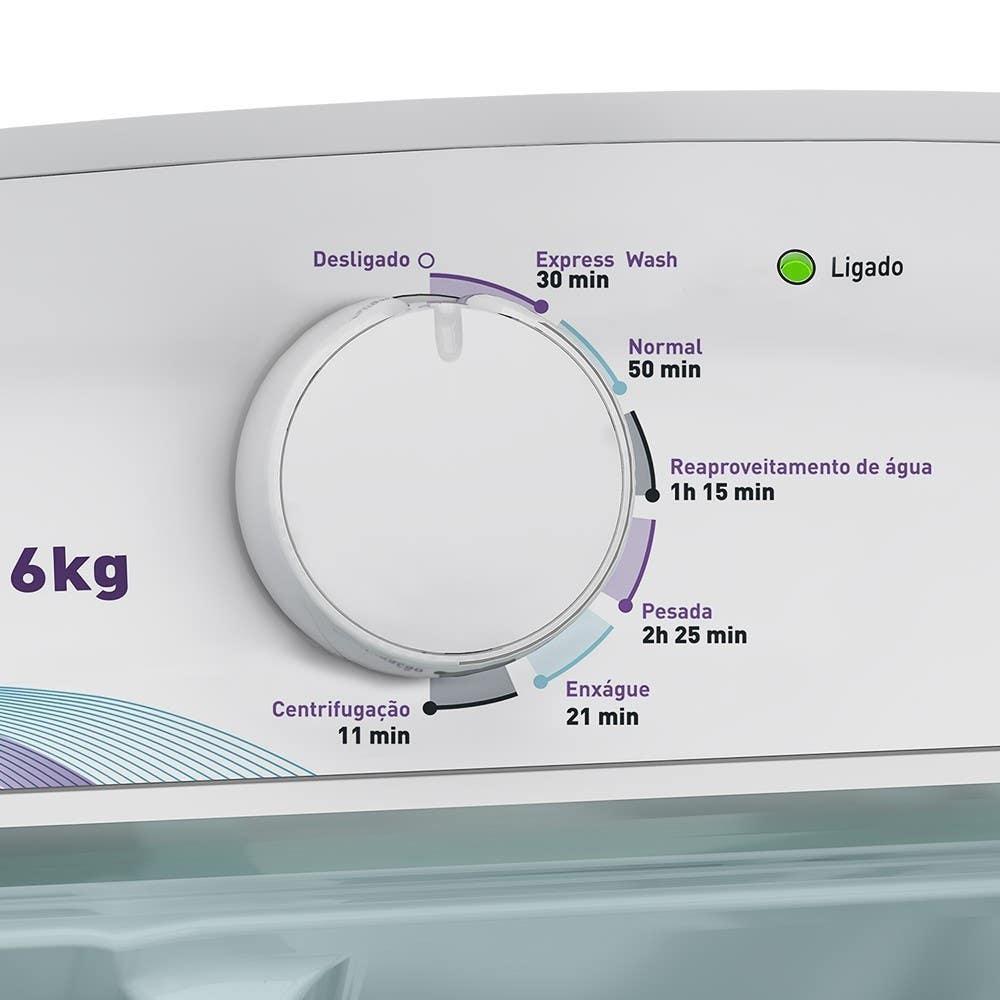 6 programas de lavagem