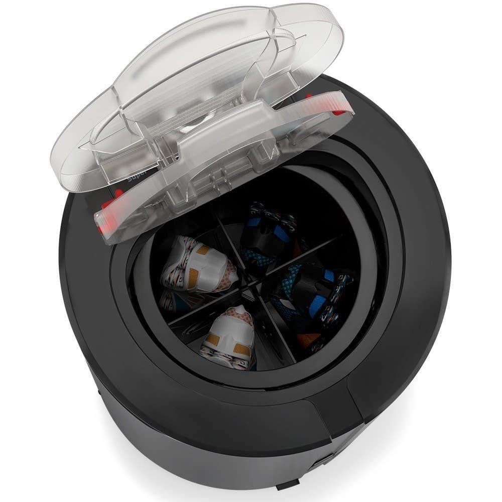 Suporte para centrifugar tênis